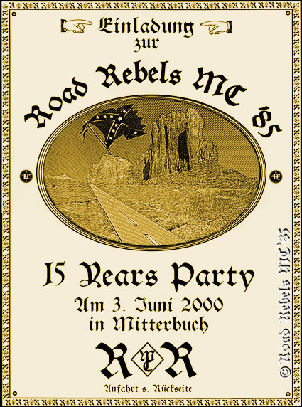 15 Years Party - 2000 - Mitterbuch