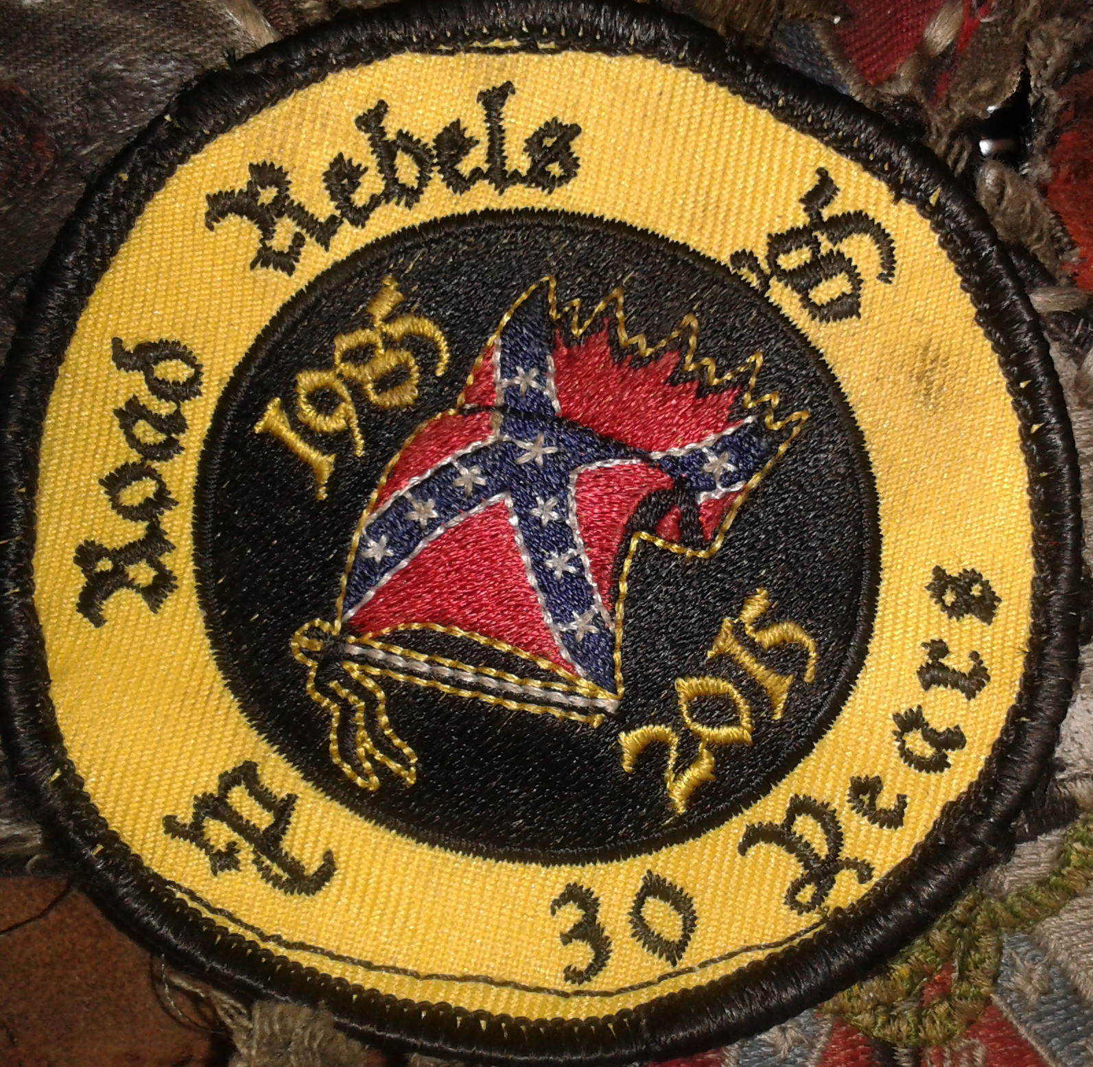 30 Jahres Patch
