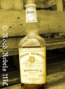 Jim Beam RR Bottle